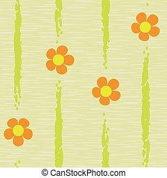 model, abstract, bloemen, seamless, achtergrond