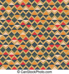 model, abstract, geometrisch, kleurrijke