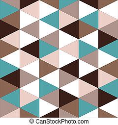 model, abstract, geometrisch, seamless, retro