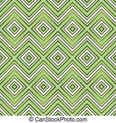 model, abstract, groene, seamless, zigzag