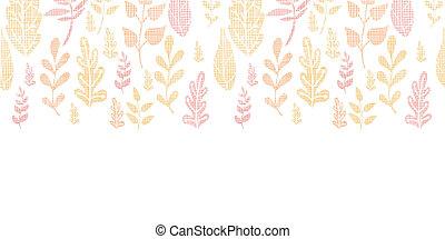 model, bladeren, herfst, seamless, textiel, achtergrond, textured, horizontaal