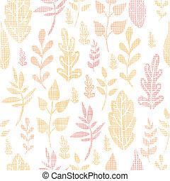 model, bladeren, herfst, seamless, textiel, achtergrond, textured