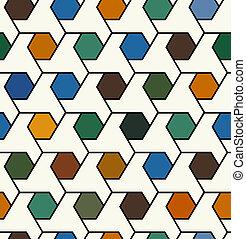 model, seamless, geometrisch
