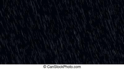 moderne, -, regen, animation achtergrond, het vallen