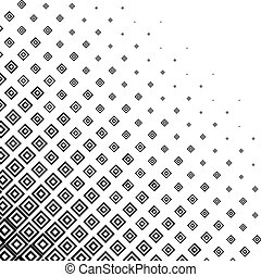 monochroom, halftone, abstract, achtergrond