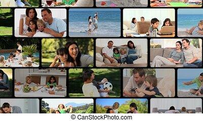 montage, families