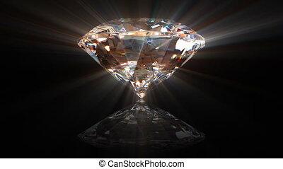 mooi, diamant