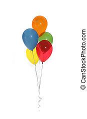 mooi, feestje, ballons