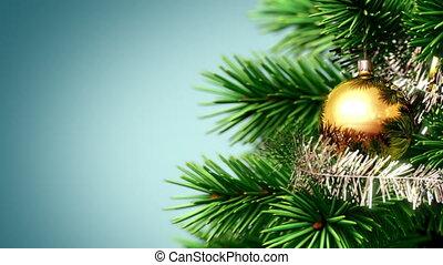 mooi, kerstmis, achtergrond