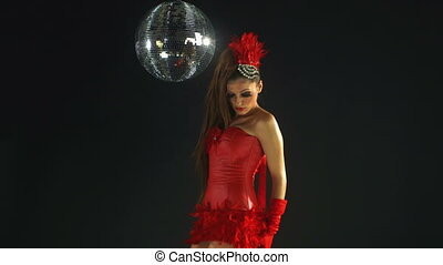 mooi, professioneel, gogo, danser