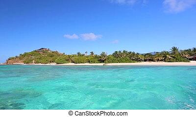 mooi, tropische , caraïbische overzees