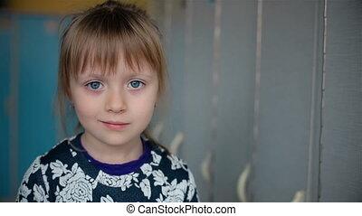 mooi, weinig; niet zo(veel), eyes, gezicht, aziaat, hebben, meisje