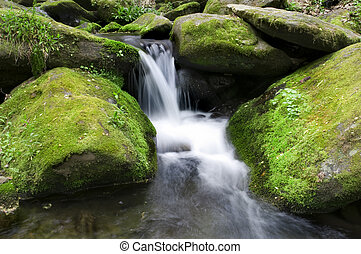 mossy, waterval