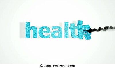 motie, gezondheid, vertragen, botsing
