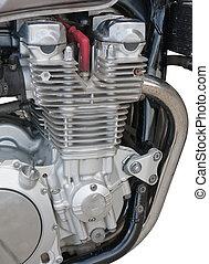 motor, closeup, motorfiets