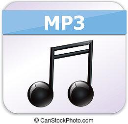 mp3, pictogram