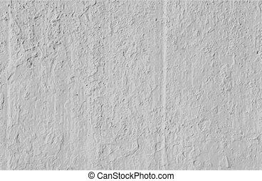 muur, beton, vector, achtergrond, grungy, witte