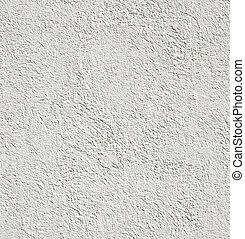 muur, beton, witte achtergrond