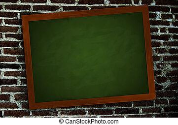 muur, chalkboard