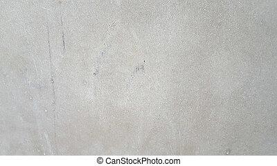 muur, grijs, cement