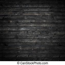 muur, grijs, hout