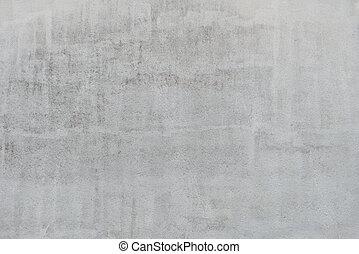 muur, grijs, textuur, stucco, achtergrond