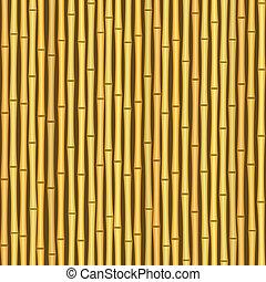 muur, ouderwetse , seamless, textuur, achtergrond, bamboe