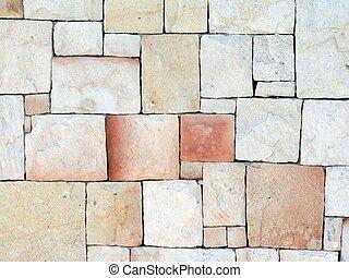 muur, steen, 01