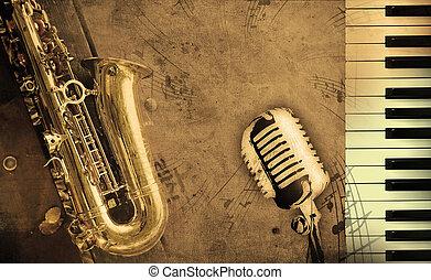 muziek, vieze , achtergrond