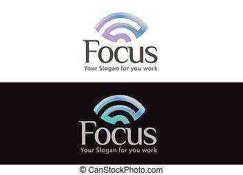 mystiek, badges., symbols., embleem, blik, handel concept, wifi, visie, logos., vector, ontwerp, illustratie, in het oog krijgen, logo, mysterieus, oog, het zien