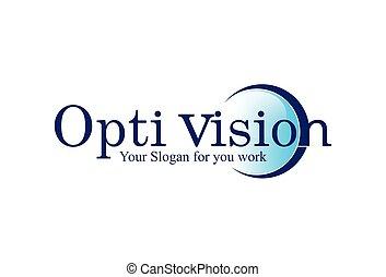 mystiek, badges., symbols., oog, blik, zakelijk, het zien, concept, logos., vector, ontwerp, illustratie, in het oog krijgen, logo, mysterieus, embleem, visie