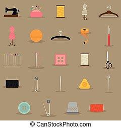naaiwerk, voorwerpen