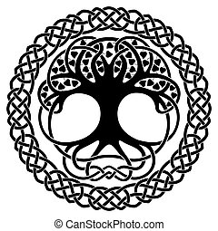 nationale, ornaments., keltisch