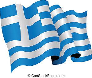 nationale vlag, griekenland