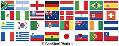 nationale, vlaggen