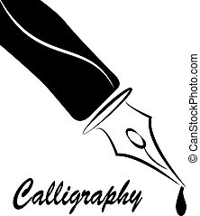 nib, kalligrafie