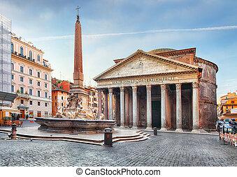 niemand, -, pantheon, rome