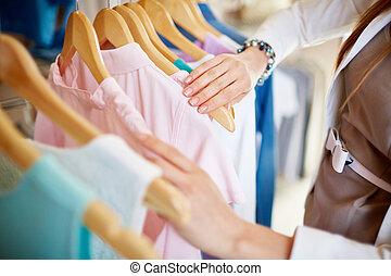 nieuw, kleren