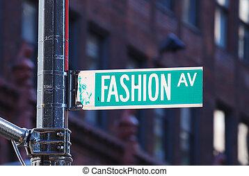 nieuw, mode, laan, york, stad