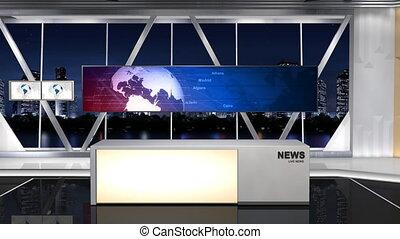 nieuws, 100c1, studio, duw