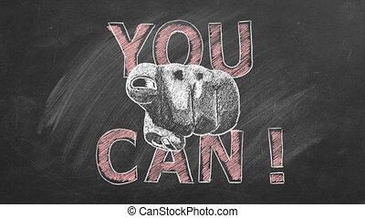 noteren, inspirational, motivational, u, can.