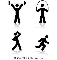 oefening, iconen
