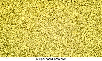 of, grunge, textuur, achtergrond, muur, beton, gouden