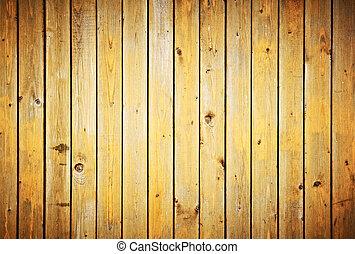 omheining, ouderwetse , texture., achtergrond., hout, grondslagen