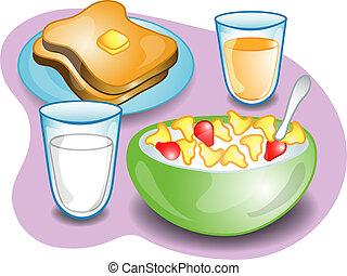 ontbijt, compleet