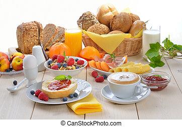 ontbijten tijdstip