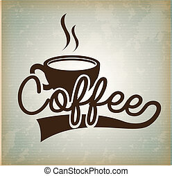 ontwerp, koffie