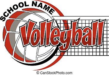 ontwerp, volleybal