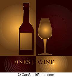 ontwerp, wijntje
