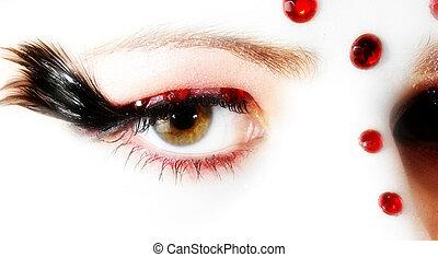 oog, artistiek